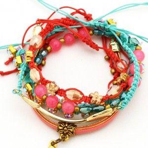 Pulsera Flecha Strass | www.dulceencanto.com accesorios para mujer #pulseras #accesorios #moda