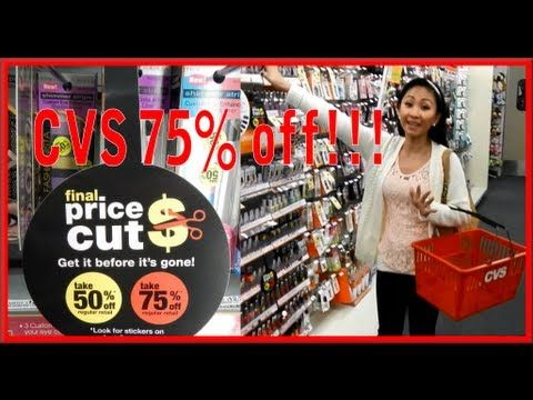 RIGHT NOW CVS is having their 75% makeup clearance!  Watch this video to find out what is on CLEARANCE!!!