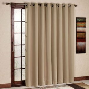 8 Foot Patio Door Curtains