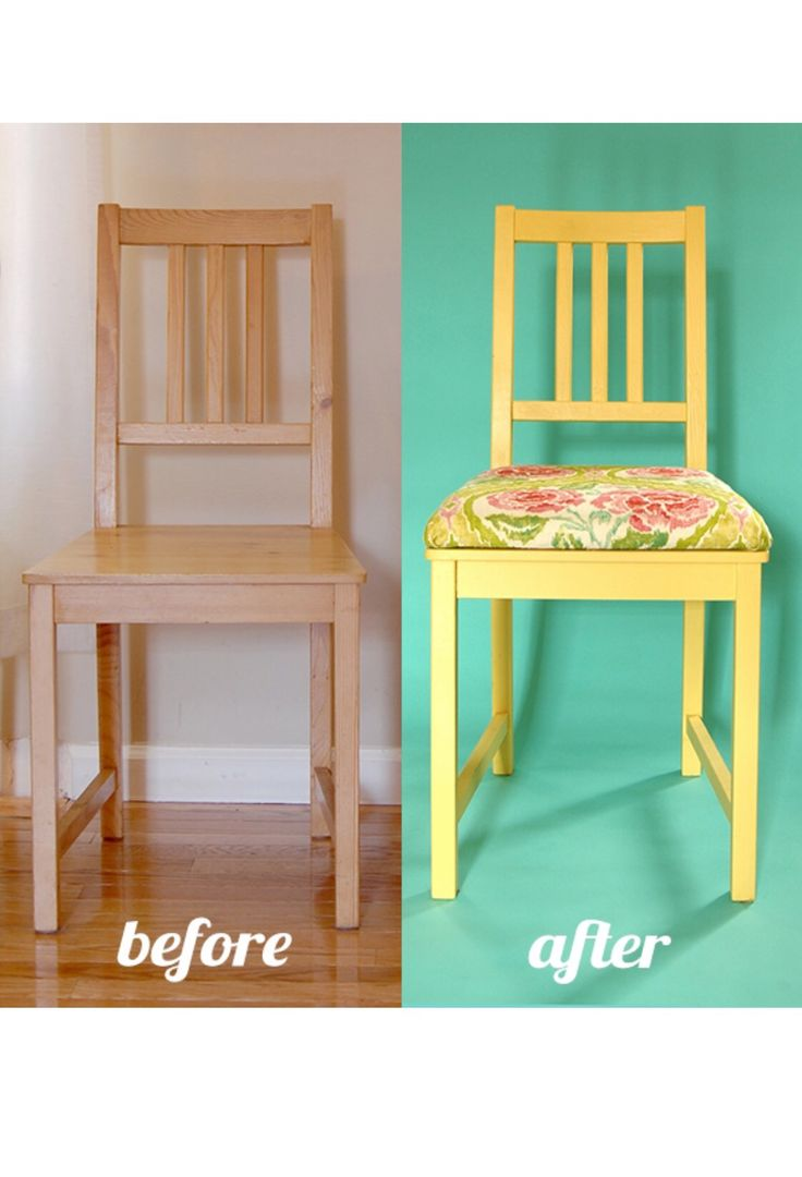 Wooden chairs for dining table - Add A Cushion To Your Dining Chairs Furniture Diy