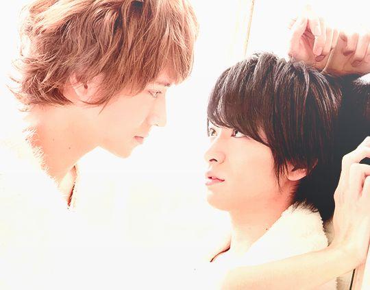 Yaotome Hikaru and Chinen Yuri. Hey! Say! JUMP