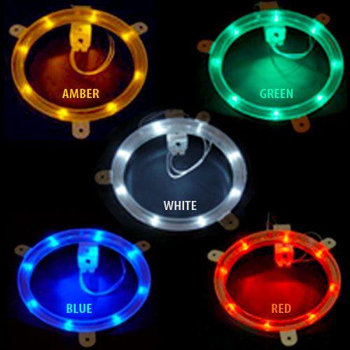 Cornhole Board Lights – Custom Corntoss – Cornhole Lights at Night