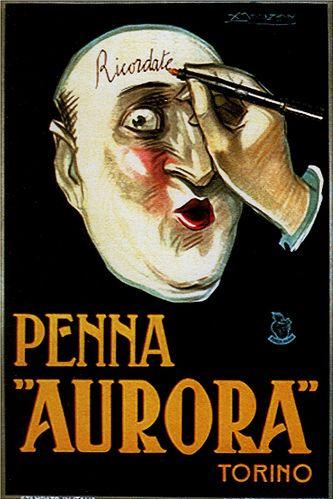 By Achille Mauzan (1883-1952), 1921, Aurora Pen. (I)