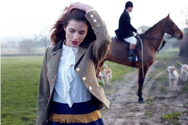 TWEED TREND - Joules AW13 http://www.joules.com/