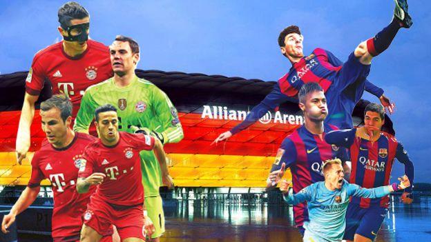 Barcelona venció 3-0 al Bayern Munich en la ida de las semifinales de la Champions League.