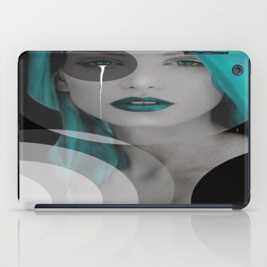 Blue+Angel+iPad+Case+by+Müge+Başak+-+$60.00