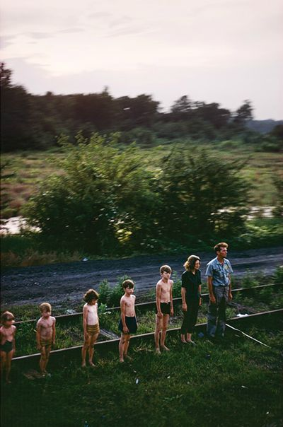Saluting the RFK train —'The Fallen' by Paul Fusco. Check out the whole series at NYT.