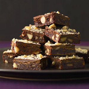 Elegant Chocolate Recipes: Fudge Brownies with Macadamia Nuts