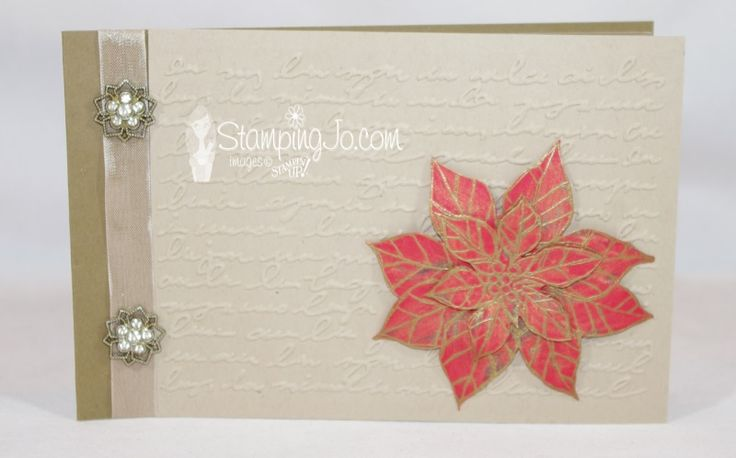 Video Tutorial....Fun Gift Idea-Stampin' Up! Clear Envelope Album!