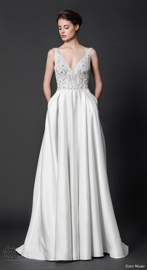 Unique Tony Ward Wedding Dresses u ucAbstract Roses ud Bridal Collection