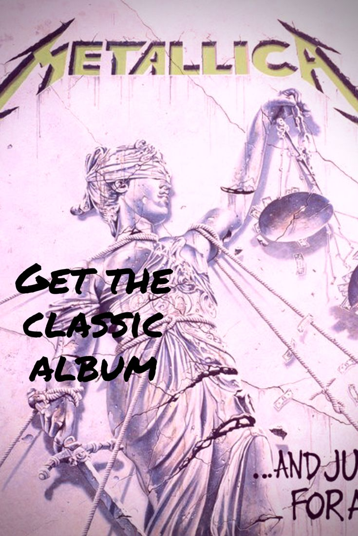 Metallica And Justice For All, get the classic album Today