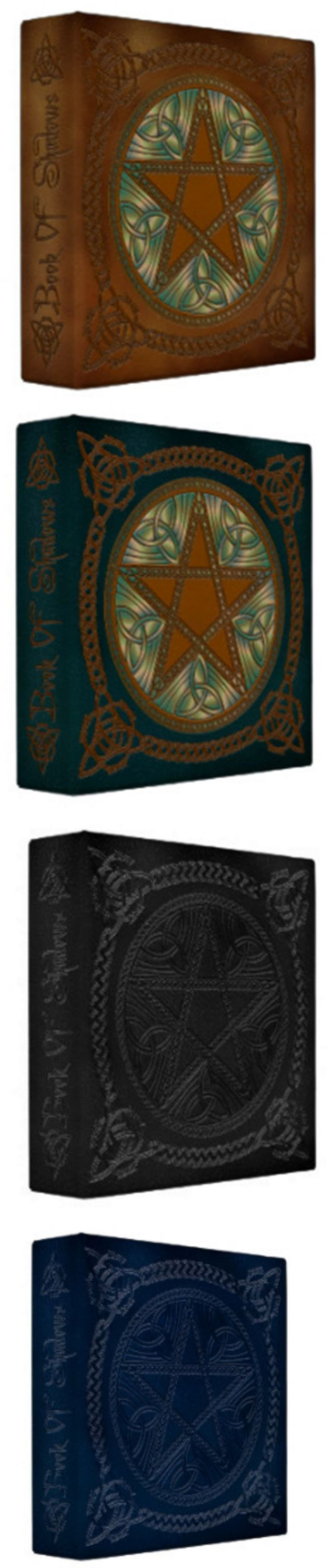 Other Craft Storage 183187: Pentagram Pentacle Book Of Shadows 3 Ring Binder Printed Faux Leather Design -> BUY IT NOW ONLY: $33 on eBay!