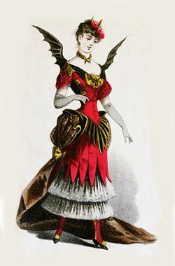 Victorian costumes c. 1880's - I love Victorian fancy dress