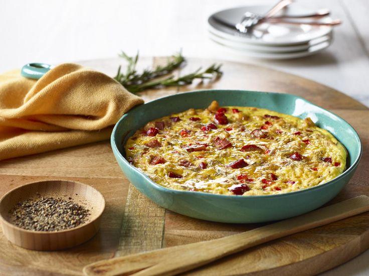 Potato and Chorizo Frittata | Get Cracking