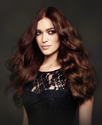 Acconciature capelli castani ghd ® |Tagli capelli castani