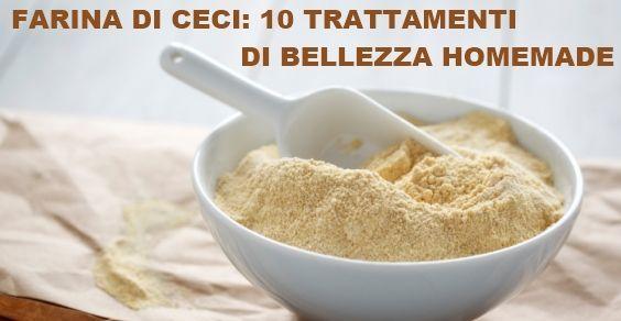 Ecco 10 tra i possibili trattamenti di bellezza a base di farina di ceci, tutti da sperimentare per rinnovare il proprio eco-beauty.