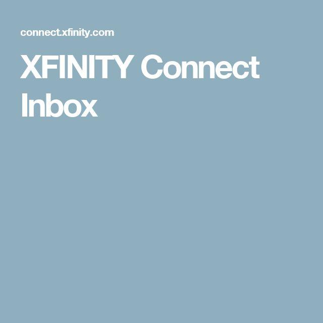 XFINITY Connect Inbox