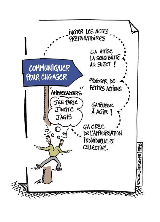 Communiquer pour engager le changement de comportement.