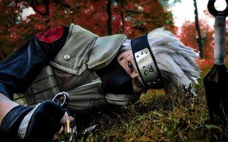 naruto, cosplay, shinobi, hatake kakashi