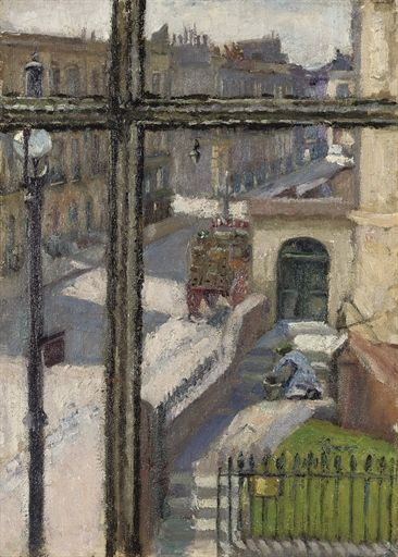 From a Window in the Hampstead Road, Spencer Frederick Gore. English (1878 - 1914)