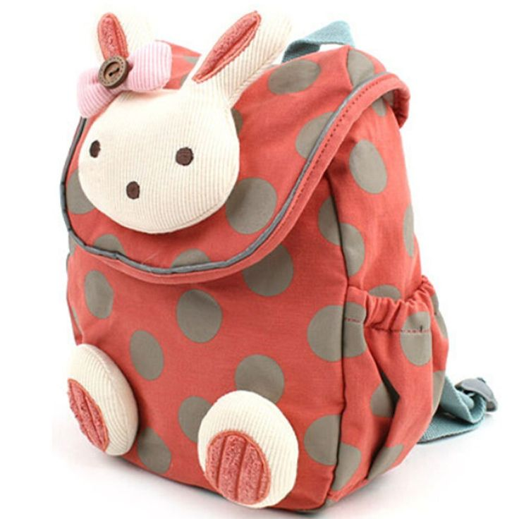 Amazon.com : Pumud 3d Animal Rabbit Anti-lost Baby Backpack Toddler Kids School Bag (Red) : Baby