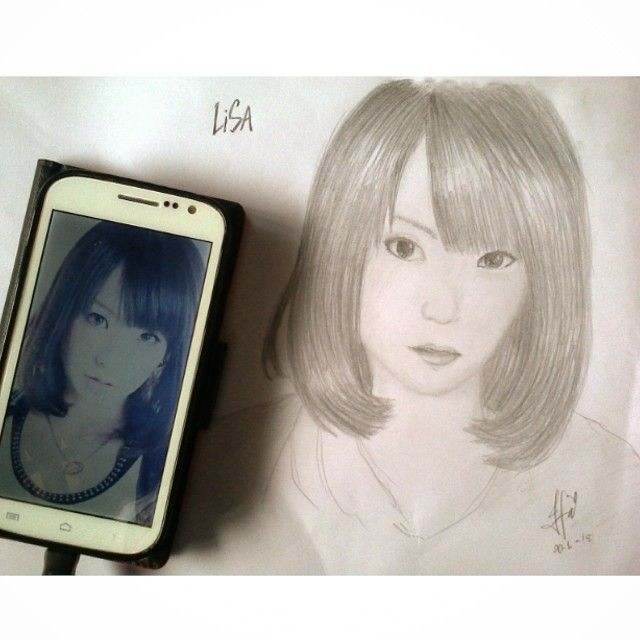I just try how to draw semi realis art =___=