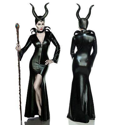 Misstress of Evil Halloween Kostüm für Damen Maleficent Horror Fee Gr. XS - XXL