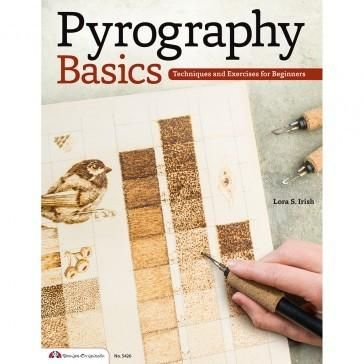 DIY Craft: Pyrography Basics, Paperback Book. A great primer to the basics of woodburning—includes techniques, exercises and seven easy projects.