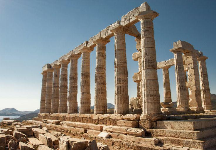 Temple of Poseidon, Cape Sounio, Greece Source: https://www.flickr.com/photos/patsnik/19478153609/