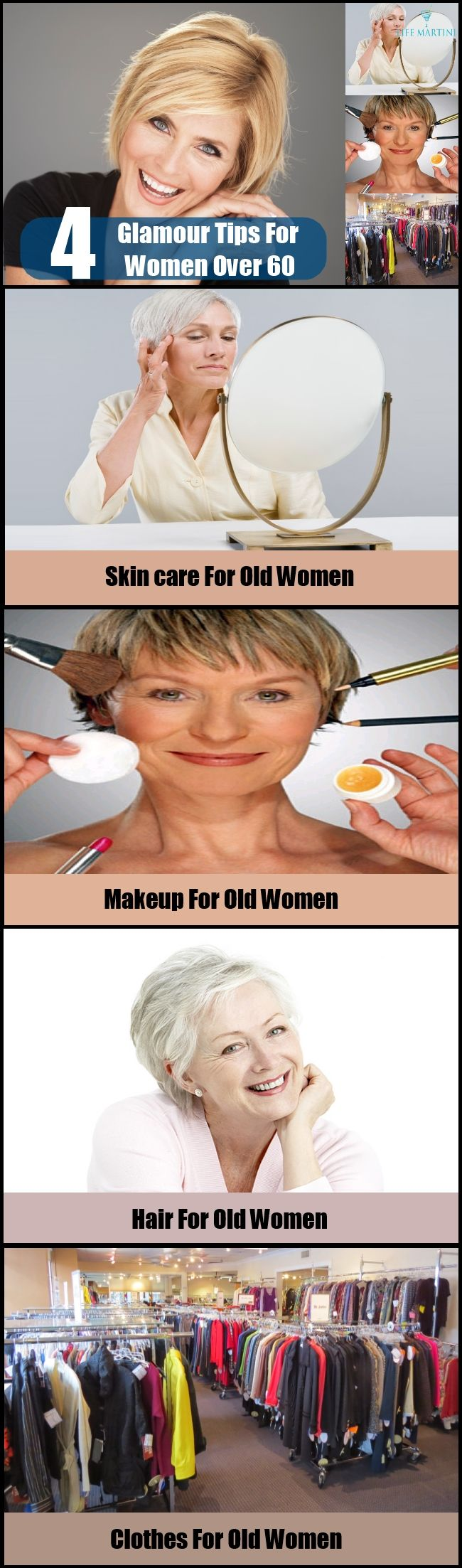 4 Best Glamour Tips For Women Over 60