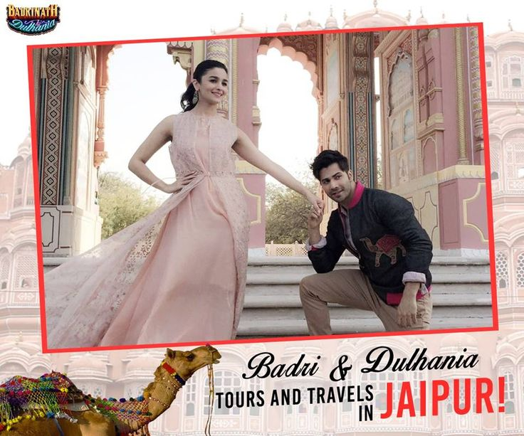 Keeping it rea(ga)l in the pink city #Jaipur, destination #1 of the Badri & Dulhania tours and travels!❤️ Varun Dhawan #AliaBhatt #BKDinJaipur