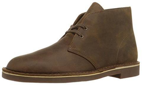 Clarks Men's Bushacre 2 Desert Boot,Beeswax Leather,11 M US