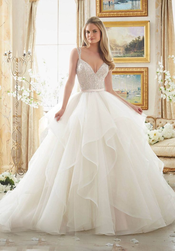 Mori Lee 2887 Wedding Dress
