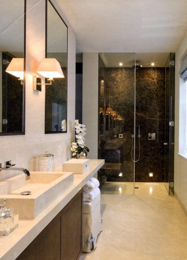 very nice for a thin long bathroom space - Bathroom Ideas Long Narrow Space