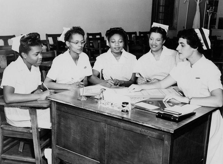 Duke's African American LPN Program | Duke Medical Center Archives