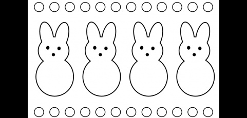 Free Peeps Coloring Page | Easter | Pinterest | Coloring ...