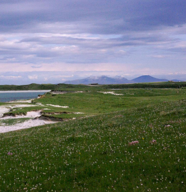 Across the Machair to South Uist from Balranald, North Uist