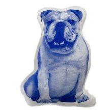 Areaware Fauna Kussen - Engelse Bulldog