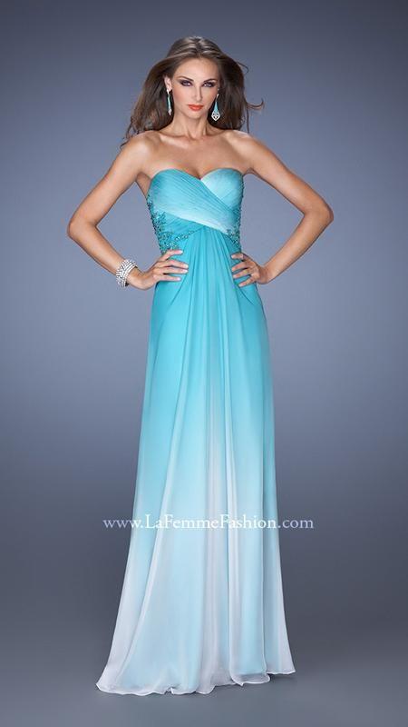 La Femme 19549 | La Femme Fashion 2015 - La Femme Prom Dresses - La Femme Short Dresses - I like the colors