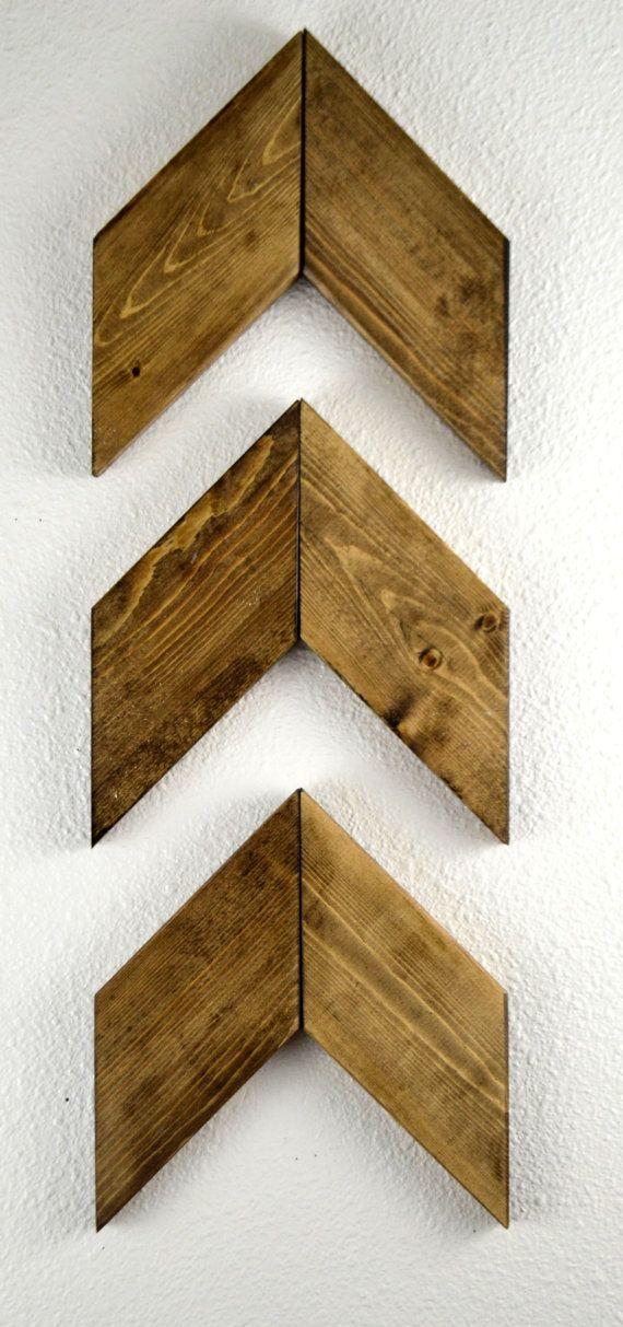 Rustic Wood Arrows Set of 3 Coworker Gift by MintageDesigns