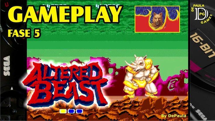Altered Beast MEGA DRIVE Gameplay Fase 5 e Final