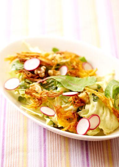たっぷり野菜和風サラダ のレシピ・作り方 │ABCクッキングスタジオのレシピ | 料理教室・スクールならABCクッキングスタジオ