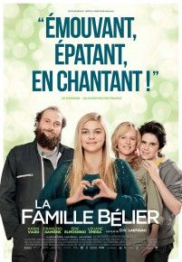 """""""La Famille Bélier"""" d'Eric Lartigau avec Louane Eméra, Karine Viard, françois Damiens, Izia Higelin. 2014"""