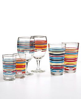Fiestaware Glasses  - WHOA! i NEED the wine glasses!!! already have the regular glasses