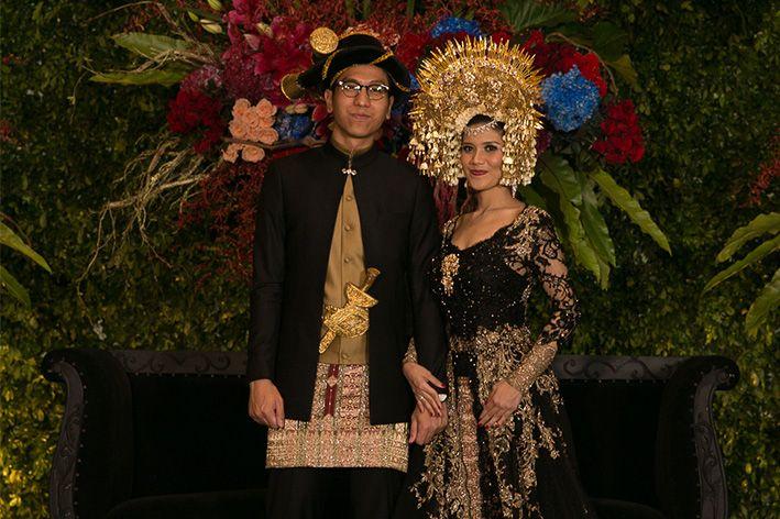 Pernikahan Adat Mandailing dan Minang: Fany dan Daud - The Bride Dept the wedding pernikahan mandailing minang vera kebaya