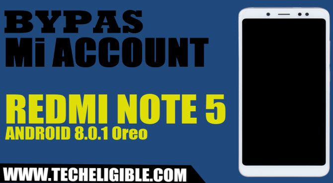 Remove FRP and Bypass Google Account Mi Redmi Note 5 Without
