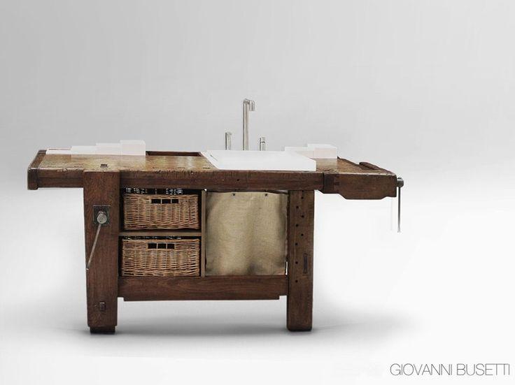 Oltre 25 fantastiche idee su mobili in legno di recupero for Piani di casa cottage con porte cochere