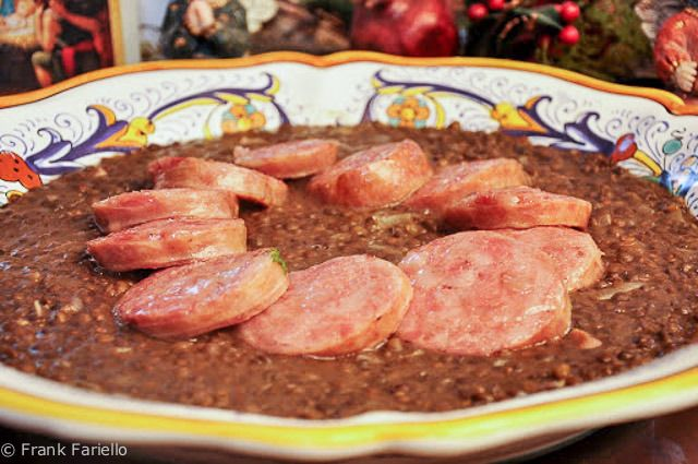 A New Year's Tradition: Cotechino con lenticchie (Emilian Sausage with Lentils)