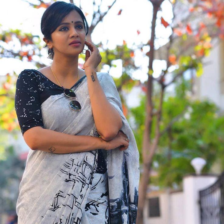 Saree inspiration from @anjana_rangan 8