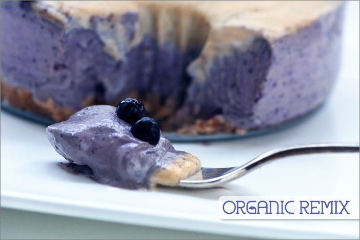 Vanilla Blueberry Cake: melt-in-your-mouth good (raw, vegan).